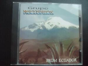 GRUPO  RECUERDOS  -   FROM  ECUADOR    ,  CD  ,  INKAS , ANDEN , WORLD