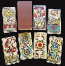 c.1898 Tarot Besancon Antique Deck B.P. Grimaud Paris France Partial 77/78 Cards