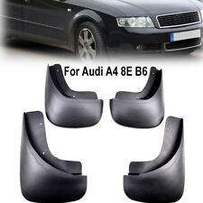 Set Mud Flaps Fit For Audi A4 2002-2005 (B6 / 8E) Sedan Saloon Splash Guards