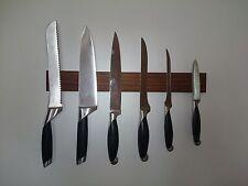 Magnet, Messerleiste Messerhalter Messerblock Messer Leiste Massivholz Nussbaum