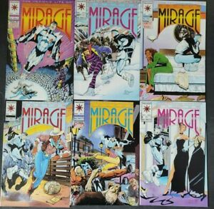 THE SECOND LIFE OF DOCTOR MIRAGE #1-18 (1993) VALIANT COMICS FULL COMPLETE SET!
