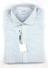 Calvin Klein Men's Size 161/2 Dress long Sleeve Slim Fit Button Down Shirt 34/35