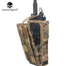 Airsoft Hunting Molle Pouch Emerson PRC148/152 Tactical Radio Pouch Multicam