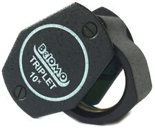 "BelOMO 10x Triplet Loupe Magnifier. 21mm (.85"") U.S. EDITION. Jewelry Instrument"