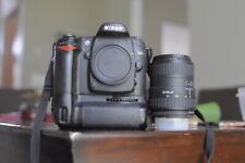 Nikon D80 camera body with a Sigma Lens