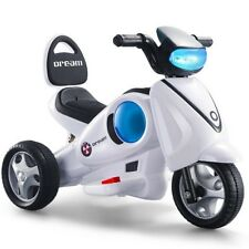 Elektro Scooter mit Licht Motorrad Kindermotorrad Kinder Auto Dreirad Spielzeug