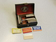 Vintage Ever-Ready 1914-15 SE Safety Razor Set in Case