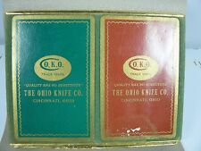 CONGRESS Bridge Card Set - Advertising for the OHIO KNIFE CO. Cincinnati