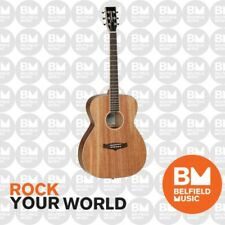 Tanglewood Union Folk Solid Top Acoustic Guitar Natural Satin - Brand New