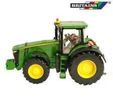 Britains 43174 - John Deere 8400R Tractor - Detailed Die-Cast Model Toy - 1:32