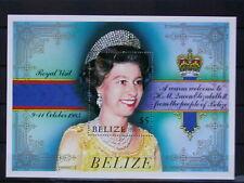 BELIZE '1985 **MNH BF62 YT 9,00 EUR DINASTY,DYNASTIE,QUEEN ELIZABETH