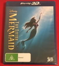 The Little Mermaid 3D Blu-ray. Brand New & Sealed