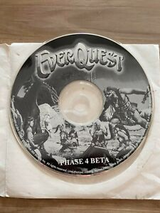 Everquest: Phase 4 BETA Collector PC CD gaming memorabilia game disc tester RARE
