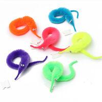 1x Magic Worm Wiggle Twisty Worms Wurli Squirmles Kids chat Fuzzy Toy S YF