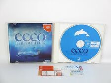 Dreamcast ECCO THE DOLPHIN Defender Future with SPINE CARD * Sega Japan Game dc