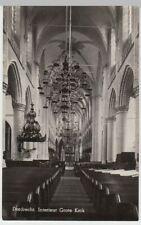 (53565) Foto AK Dordrecht, Interieur Grote Kerk, nach 1945