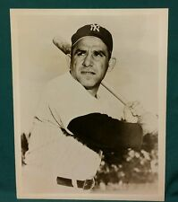 YOGI BERRA ORIGINAL VINTAGE YANKEES TEAM ISSUE PHOTO