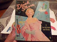 Vintage 1958 Dinah Shore Paperdolls Whitman