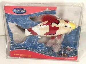 "Swim Ways Rainbow Reef Koi 12"" Battery Operated Swimming Action Fish Pool Toy"