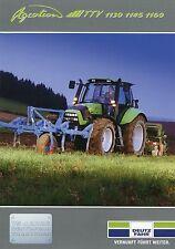 Prospekt Agrotron TTV 1130 1145 1160 3 03 2003 Trecker Traktor brochure tractors