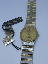 Vintage Men's Movado Watch - With Tag And New Battery!