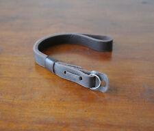 Zhou OneKnot BrownLeather Wrist Strap Leica Nikon Zeiss