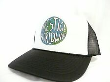 Prestige Worldwide trucker hat mesh hat Snap Back Hat black