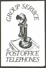 GROUP SERVICE POST OFFICE G.P.O. TELEPHONES FOLD OUT LEAFLET