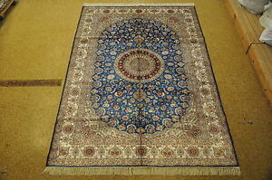 Silk Collection Rug Chinese Silk Rug Handmade Carpet 6x9