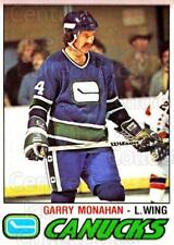 1977-78 O-pee-chee #341 Garry Monahan