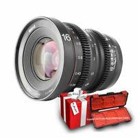 Meike 16mm T2.2 Cinema Lens for MFT M4/3 Olympus / Panasonic Lumix/ BMPCC Camera