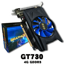 NVIDIA GeForce GT730 4GB DDR5 128Bit DVI VGA PCI-Express Video Graphics Card Top
