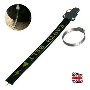 Car Safe Anti-Static Strip Earth Belt Ground Wire Strap Vehicle Driving Tool New