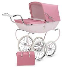 SILVER CROSS CHATSWORTH ROSE PINK CHILDS DOLLS PRAM STUNNING BRAND NEW AND BOXED