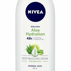 NIVEA Body Lotion, Aloe Hydration, For Normal Skin, 600ml