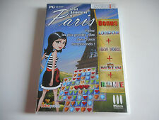 JEU PC CD-ROM - GREAT ADVENTURES IN PARIS / LONDON + NEW YORK + BERLIN + ROME