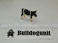 2000 Schleich Germany Baby Cow Calf Figure Figurine Black White