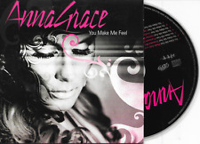 ANNAGRACE - You make me feel CD SINGLE 7TR Cardsleeve Euro House 2008 Belgium