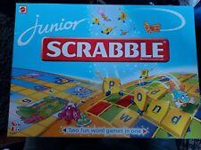 JUNIOR SCRABBLE BOARD GAME - 5-10 YEARS
