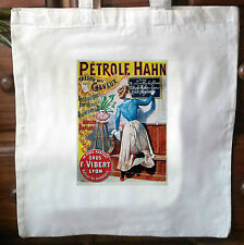 Vintage French advert retro cotton cream tote bag No3