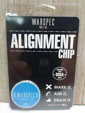 New Warspec Golf Co. Blue Alignment Chip Putter Putting Aid Usga Approved