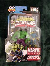 Marvel Universe 2009 Secret Wars Comic Packs #4 - Hulk & Cyclops 2-Pack. NIP!