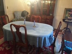 American Drew Cherry Grove 9 Piece Dining Room Set w/ Leaves Excellent Condition