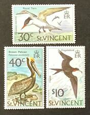 St Vincent. Birds Stamp Set. SG396/98. 1974. MNH. (Y153)