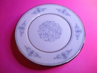 LOT (6), Lenox Oxford Bone China - White Blue - Bryn Mawr - Bread Butter Plate