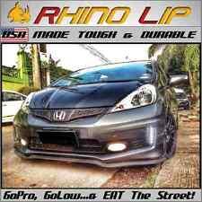 Honda Civic City Jazz Ex Jdm Sick Speed Coupe Front Rubber Chin Spoiler Splitter Fits Saturn Aura