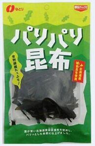 Natori Crusty Kelp Snack Konbu 12g japanese snack from Japan