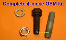OEM Mopar Starter Screw / Stud / Nut Dodge Plymouth 383 360 440 Dart Cuda GTX ++