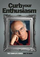 Curb Your Enthusiasm Complete Series 1-8 DVD Collection Season 1 2 3 456 7 8 NEW