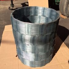 New listing Razor Ribbon / Razor Coil / 5 Coils - 18' x 250 Feet Coverage Galvanized Steel